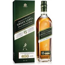 WHISKY GREEN 15 YEAR X 75 CL